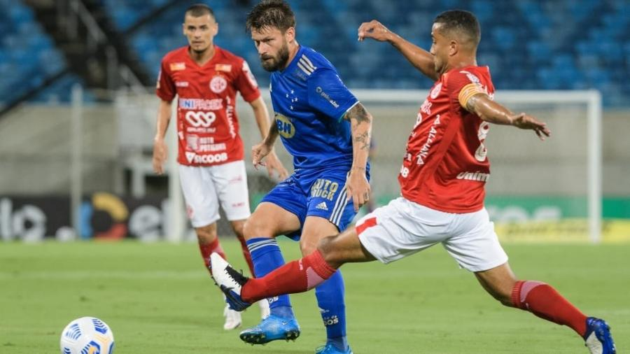 Cruzeiro, de Sóbis, só levou quatro gols na temporada 2021 - Gustavo Aleixo/ Cruzeiro