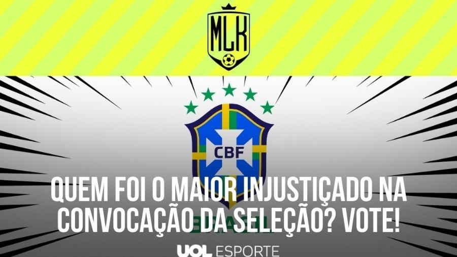 Seleção Brasileira  - Arte/UOL