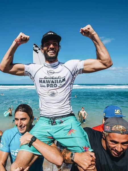 Surfista português Frederico Morais lamenta ficar de fora dos Jogos Olímpicos - Reprodução/Twitter