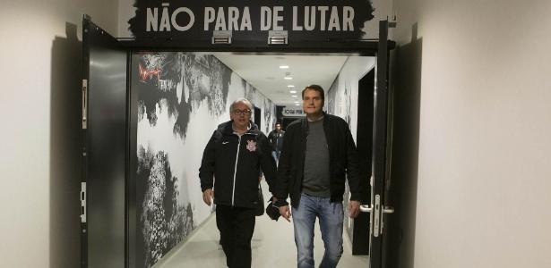 Eduardo Ferreira (à direita) comentou episódio nesta segunda-feira