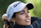 Ela é atleta, mas canta, compõe e um dia quer trocar o golfe pelos palcos - Divulgação