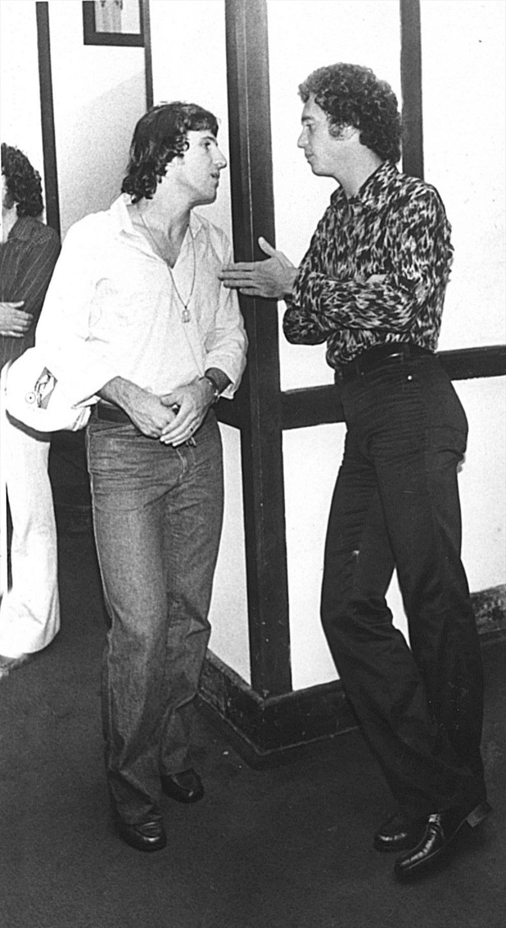 Falcão e Zico, da seleção brasileira na Copa do Mundo de 1982