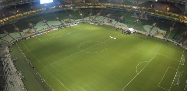 O Palmeiras pode jogar contra o Tucumán de portões fechados