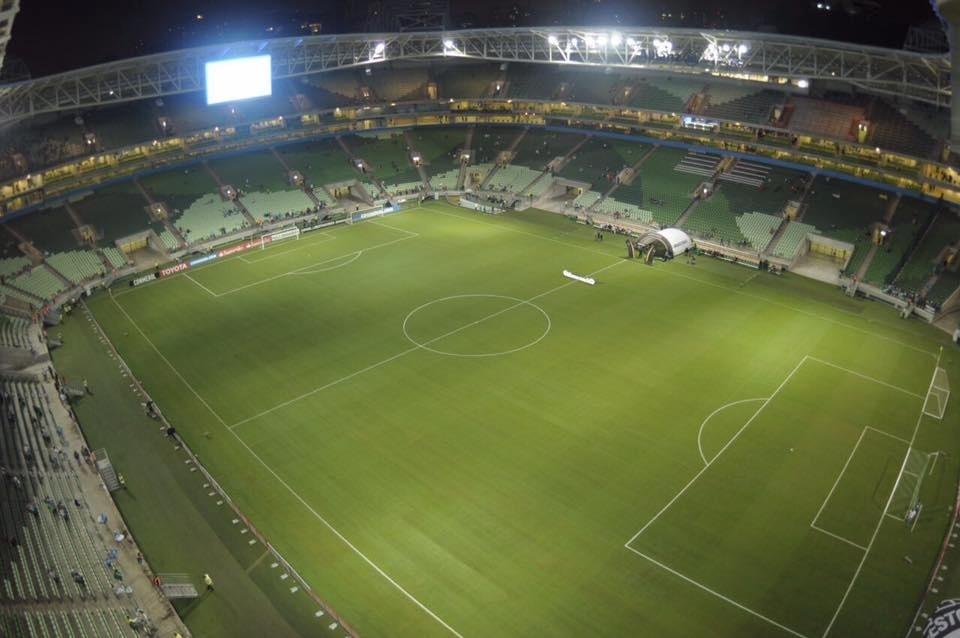 Palmeiras gramado Allianz Parque Peñarol Libertadores