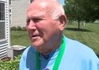 Casal de 79 anos treina escondido para corrida de 5 km e ainda chega em 1º - Reprodução/WGN TV