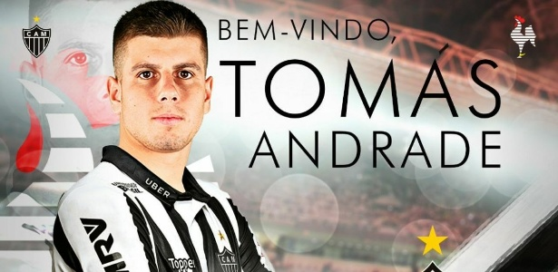 Tomás Andrade chega por empréstimo e vai ser o 15º argentino a jogar pelo Atlético-MG