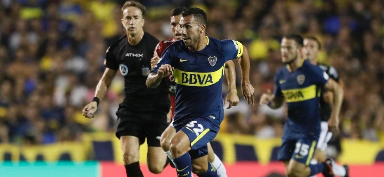 Carlitos Tevez será analisado, caso se destaque com a camisa do Boca Juniors - Site oficial do Boca Juniors