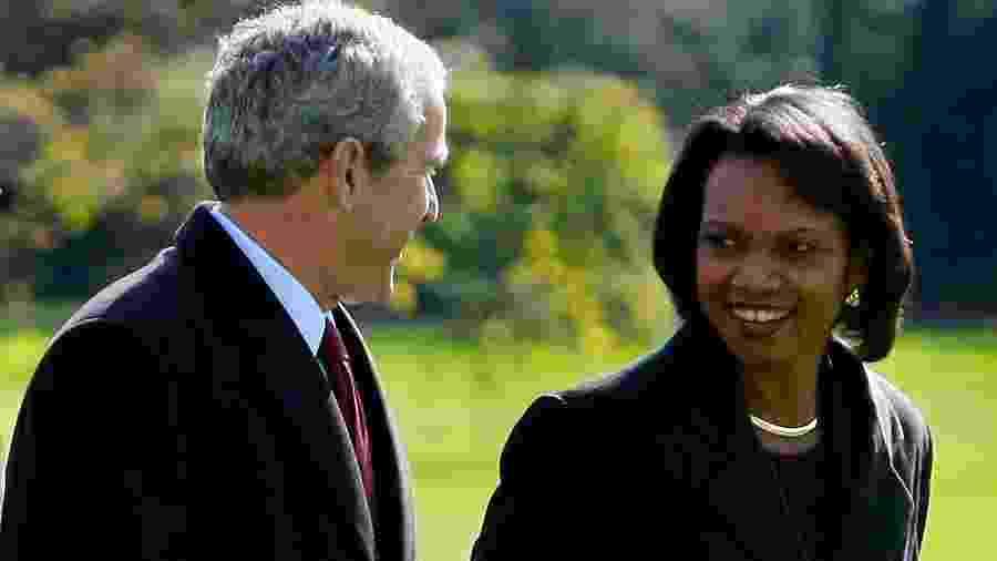 Condoleezza Rice foi Secretária de Estado entre 2005 e 2009, durante a administração de George W. Bush - Mark Wilson/Getty Images