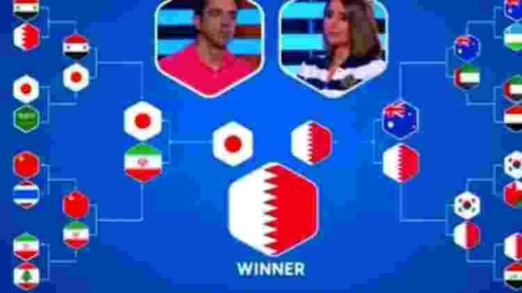 Xavi acertou três confrontos das quartas de final e só errou uma seleção na fase - Reprodução
