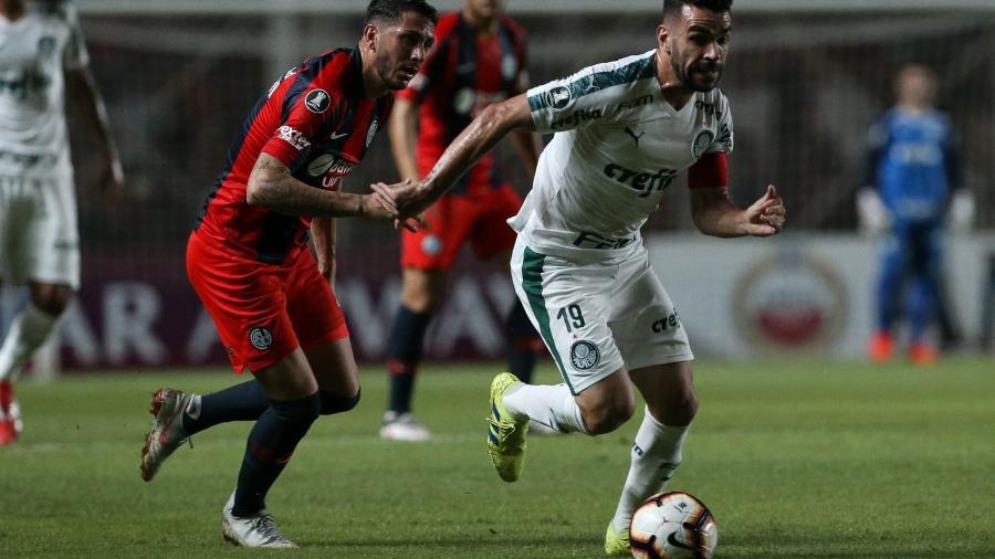 Palmeiras foi ultrapassado pelo San Lorenzo no grupo F da Libertadores - Cesar Greco/Agência Palmeiras