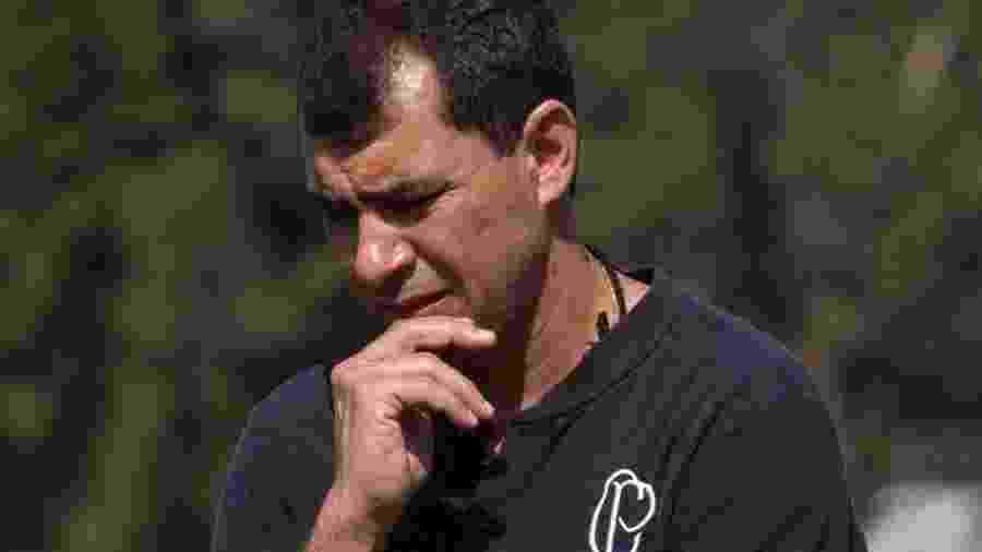Fábio Carille deve definir os titulares no treino de hoje, que é fechado para a imprensa - Daniel Augusto Jr/Ag. Corinthians