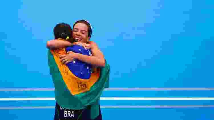 Brasileiras do triatlo fazem dobradinha no Pan-2019 - Marcos Brindicci / Lima 2019  - Marcos Brindicci / Lima 2019