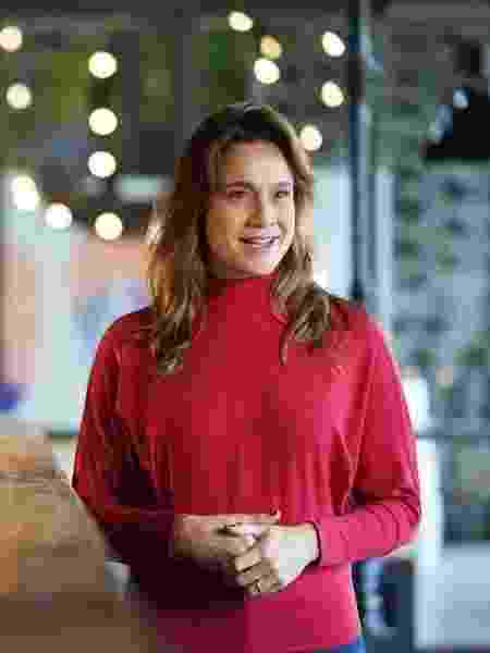 Fernanda Gentil durante evento - Reprodução/Instagram