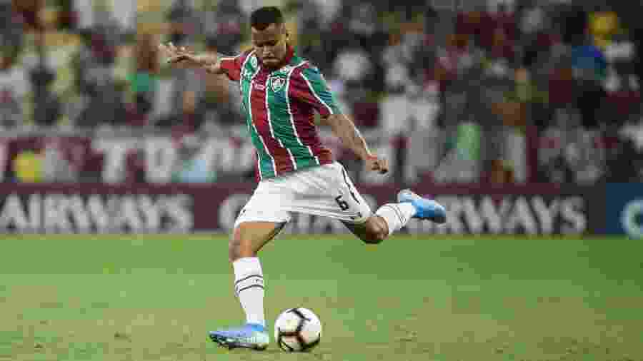 Um dos destaques do Fluminense, Allan está fora contra o Fortaleza - Lucas Merçon/Fluminense FC