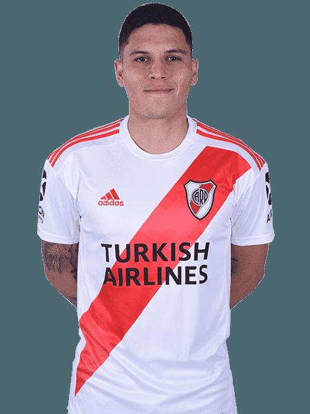 Juan Fernando Quintero, meio-campista do River Plate - Divulgação/Site oficial do River Plate