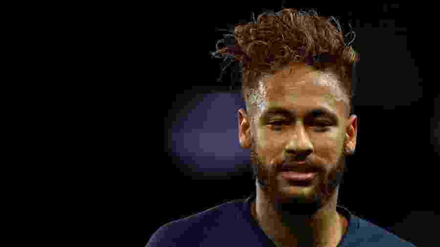 Neymar em ação pelo PSG contra o Lille - Christian Hartmann/Reuters