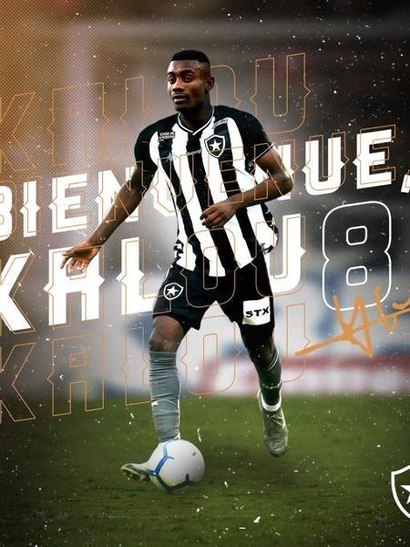 Marfinense Salamon Kalou, ex-Chelsea, é o mais novo reforço do Botafogo - Botafogo/Divulgação