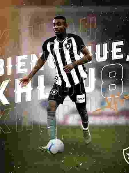 Salamon Kalou é o novo reforço do Botafogo - Botafogo/Divulgação