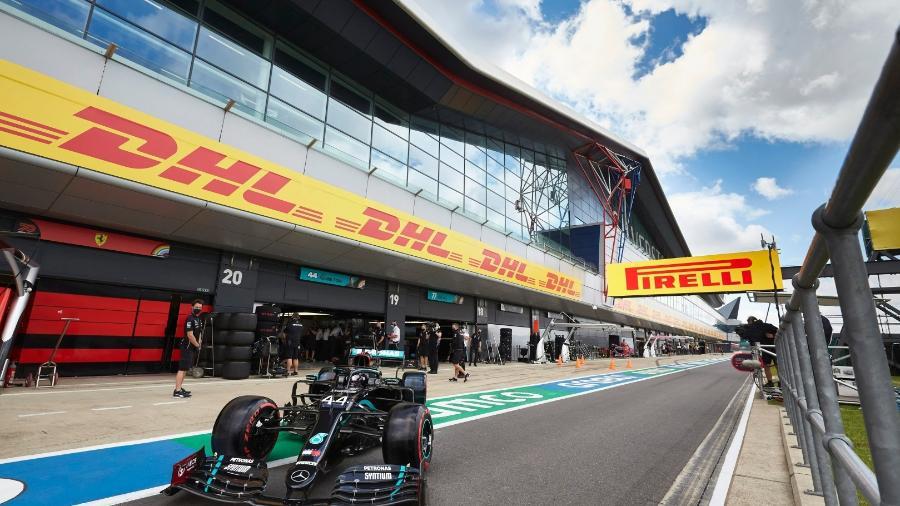 Lewis Hamilton venceu em Silverstone em sete oportunidades - LAT Images/Mercedes