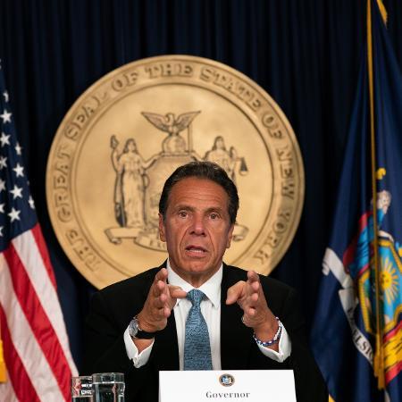 Andrew Cuomo autorizou formalmente que ele próprio seja investigado pelas acusações de assédio sexual feitas por duas ex-funcionárias - Getty Images