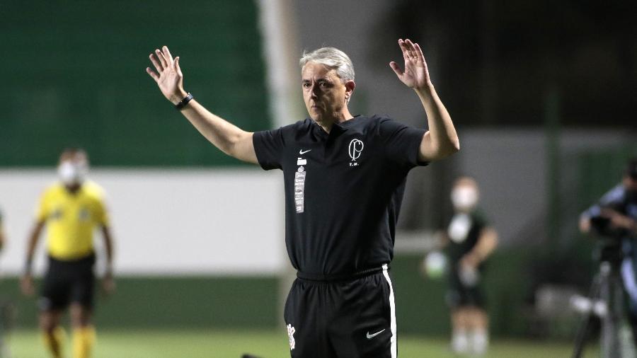 Tiago Nunes é alvo do Grêmio após saída de Renato Gaúcho do comando - Rodrigo Coca/Agência Corinthians