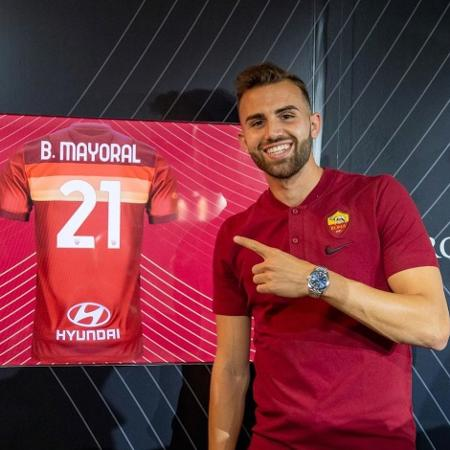Borja Mayoral foi emprestado pelo Real Madrid - Divulgação/Roma