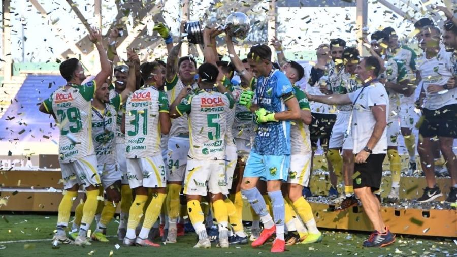Atual campeão da Copa Sul-Americana, o time argentino não perde em casa desde novembro - Reprodução