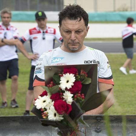 Fausto Gresini, ex-piloto e dono de escuderia da Moto GP, morre de covid-19 - Mirco Lazzari gp/Getty Images