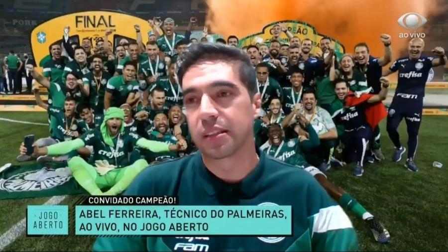 Abel Ferreira comenta interesse de Renato Gaúcho em Luiz Adriano - Reprodução/Jogo Aberto