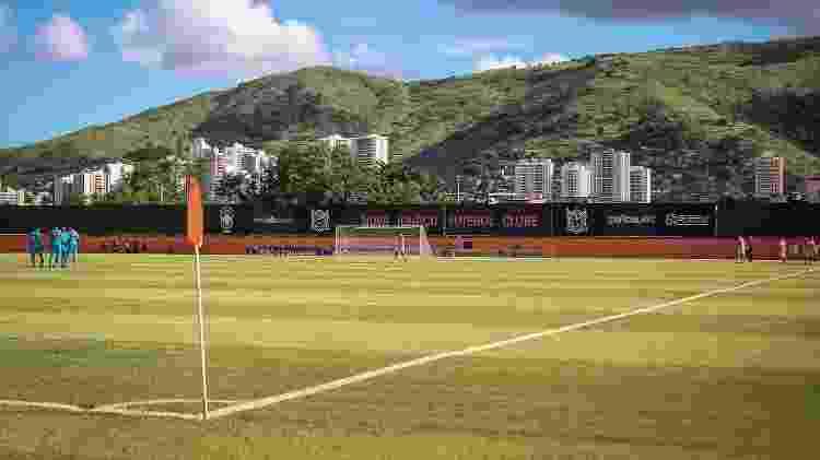 Estádio Jânio Moraes, o Laranjão, casa do Nova Iguaçu - Pedro Martins/NIFC - Pedro Martins/NIFC
