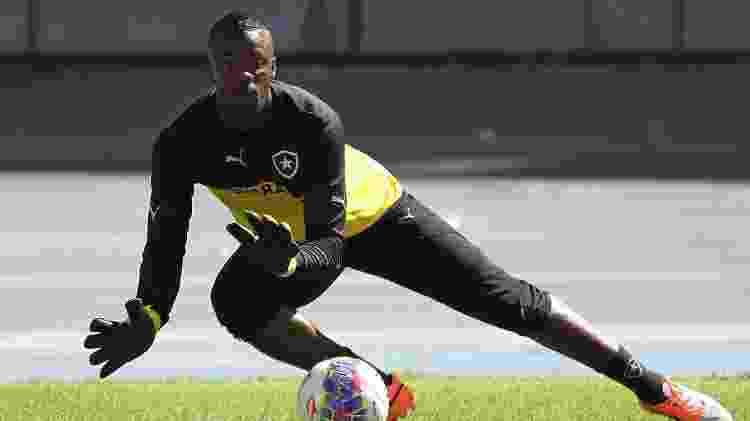 Goleiro Andrey em 2015, pelo Botafogo - Vitor Silva / SSPress - Vitor Silva / SSPress