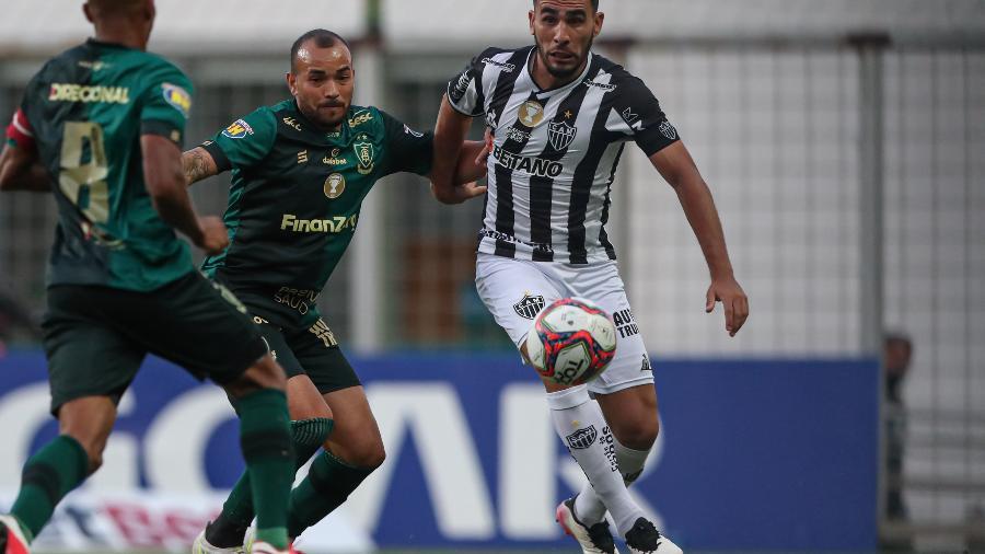 Atlético-MG e América-MG não passaram do 0 a 0  no primeiro jogo da final do Mineiro 2021 - Foto: Pedro Souza / Atlético
