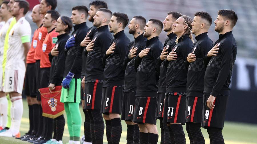 Jogadores da Croácia não irão se ajoelhar antes de partidas da Eurocopa - Kenzo TRIBOUILLARD / AFP
