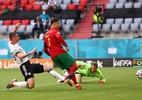 CR7 chega a 32km/h em gol de Portugal na Eurocopa, diz TV - Kai Pfaffenbach/Getty Images