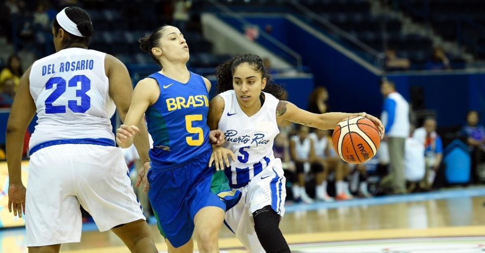 Seleção brasileira de basquete feminino enfrenta Porto Rico no Pan de Toronto