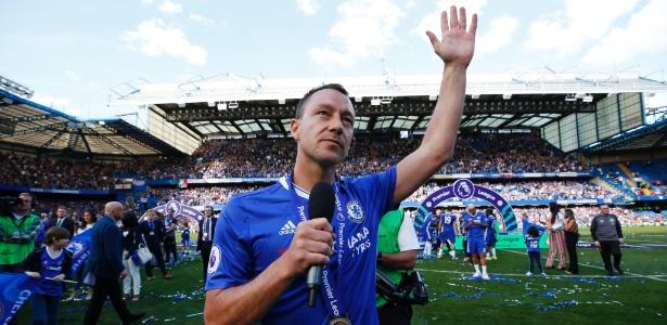 John Terry se despediu do Chelsea em vitória contra o Sunderland - Reuters / Eddie Keogh