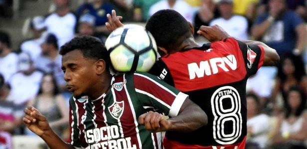 Wendel foi autor do primeiro gol no clássico diante do Flamengo