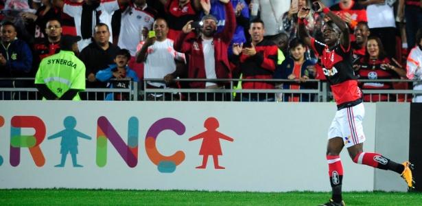 Vinicius Junior já anotou três gols entre os profissionais do Flamengo