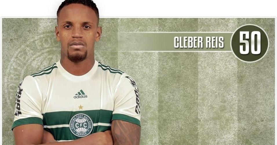 Cleber Reis, zagueiro do Coritiba