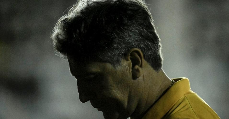 Renato Gaúcho lamenta o gol do Vasco em São Januário