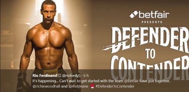 Rio Ferdinand quer se tornar boxeador profissional aos 38 anos