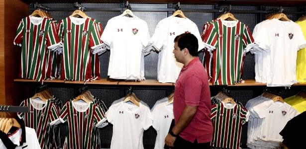 Novas camisas do Fluminense serão usadas pelo Flu a partir de outubro - Mailson Santana/Fluminense