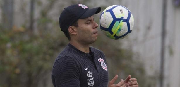 Jair Ventura comanda treino do Corinthians após derrota na final da Copa do Brasil - Daniel Augusto Jr. / Ag. Corinthians
