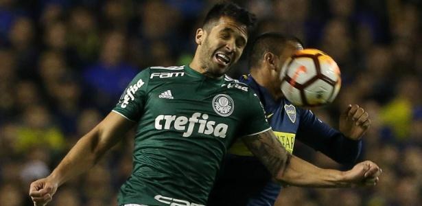 Luan levou drible de Benedetto no segundo gol do Boca na Bombonera - Cesar Greco/Ag. Palmeiras