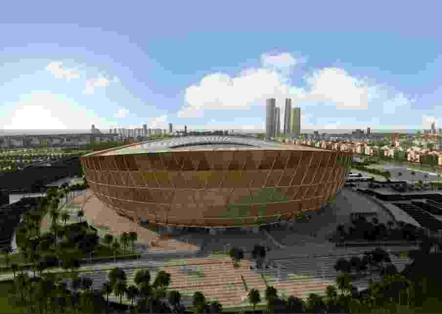 Estádio Icônico de Lusail terá capacidade para 80 mil torcedores - Divulgação/Road to 2022