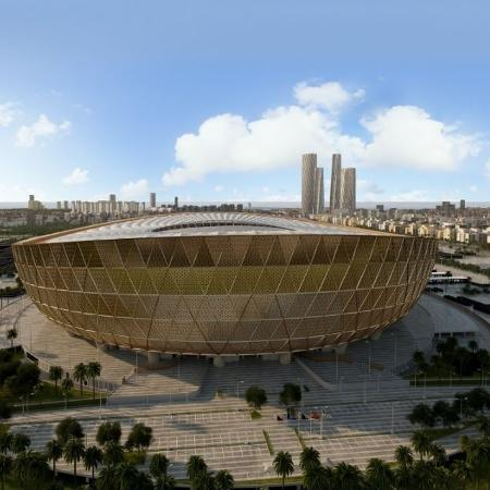 Estádio de Lusail vai receber a final da próxima Copa do Mundo - Divulgação/Road to 2022