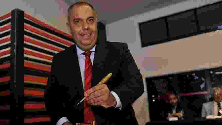 Marcos Braz toma posse como vice-presidente de futebol do Flamengo - Divulgação