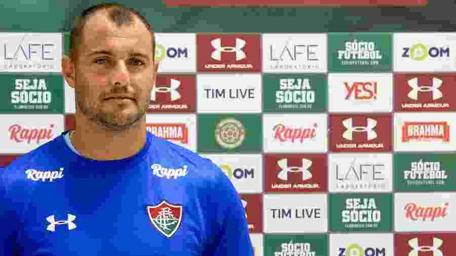 Goleiro Agenor será titular no Fluminense - Lucas Merçon/Fluminense