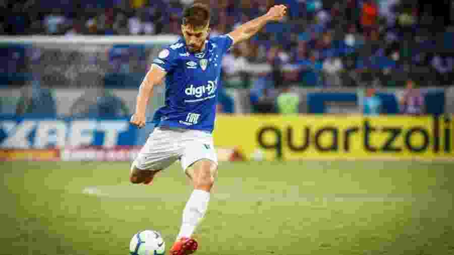Lucas Silva defendeu as cores do Cruzeiro entre fevereiro de 2017 e junho de 2019 - Vinnicius Silva/Cruzeiro