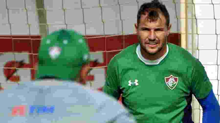 Agenor é o reserva imediato de Muriel no Fluminense - Mailson Santana/Fluminense FC